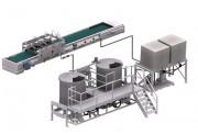 Système de vaporisation de fertilisants - Longueur : (2800 mm)* Largeur : (1500 mm)*
