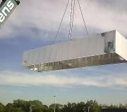 Système de ventilation par caisson - Panneaux sandwich  -   Réduction au niveau du bruit