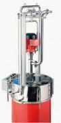 Système de vidange fût - Disponible en : Moteur triphasé ou à air comprimé
