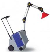 Système mobile d'aspiration-filtration - Débit : jusqu'à 135 m³/h