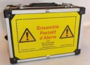 Système portatif alerte - Dimensions : 320 x 230 x 155 mm
