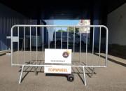 Système TOPWHEEL barrière de police - Roues pour barrière de police