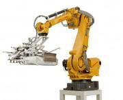 Systèmes robotisés de manipulation de sac - Alimenteur et palettiseur pour sacs à valve (jusqu'à 4 sacs/min)