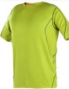T-shirt de travail en stretch - Traitement antibactérien - Traitement anti UV