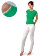 T-shirt personnalisé 100% coton semi peigne - Tee-shirt personnalisable manches courtes femme jersey