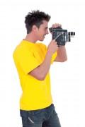T-shirt personnalisé à col rond - Tailles : XS - S - M - L - XL - 2XL - 3XL - 4XL