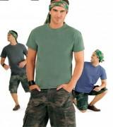 T-shirt personnalisé coupé cousu - Tee-shirt personnalisable manches courtes homme jersey