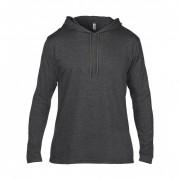 T Shirt personnalisé manches longues - 100% coton ringspun pré-rétréci - Heather: 40%coton, 60%polyester
