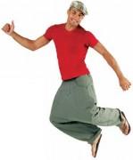 T-shirt personnalisé près du corps - Tee-shirt personnalisable manches courtes homme côte 1x1
