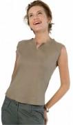 T-shirt personnalisé sans manches bas arrondi