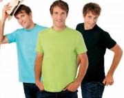 T-shirt personnalisé unisexe en coton semi-peigné