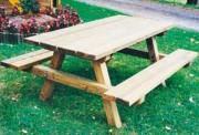 Table à pique-nique en bois