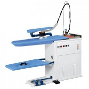 Table a repasser aspirante et vaporisante - Dimension.max.plateau : 1300 x 380 mm
