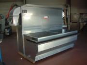 Table aspirante industrielle frontale ou périphérique - Aspiration de particules fines et gazeuses - Aspiration frontale ou périphérique