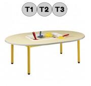 Table avec bacs - Bac plastique