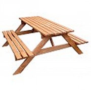 Table banc pique nique - Nombre de places : 6, 8, 10 places