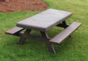 Table banc pique nique pour enfant - Longueur (cm) : 150  - Hauteur assise (cm) : 34