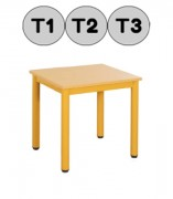 Table basic pour crèche - En bois