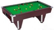 Table billard - Dimensions extérieures : 2.10 x 1.18 m