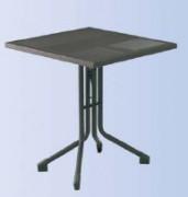 Table café en métal - Hauteur (cm) : 75