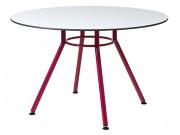Table cantine à piétement central - L x H x P : 1200 x 760 x 1200 mm