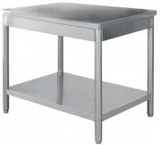 Table centrale cuisine - Dimensions mm (L x P x H) : de 1000 x 700 x 850/900 à 1400 x 700 x 850/900
