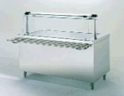 Table chaude de self - 3.60 kW - 4 bacs