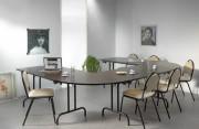 Table collective pliante demi ronde - Table 1/2 ronde / 1/4 de ronde
