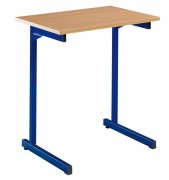 Table d'école - Dimensions (L x l) cm : 70 x 50 ou 130 x 50