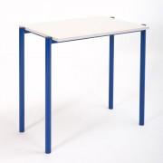 Table d'école empilable - Dimensions(L x l) cm : de 70 x 40 à 130 x 50