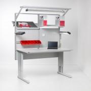 Table d'emballage avec système de calage - Construction robuste en acier soudé