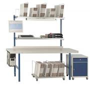Table d'emballage économique - Existe en largeur 1600 mm et 2000 mm