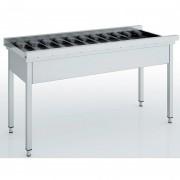 Table d'entrée et sortie - Dimensions : 1100 / 1600 x  640 x  850 mm