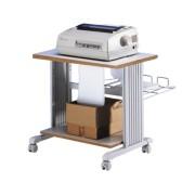 Table d'imprimante et corbeille de réception - 85200