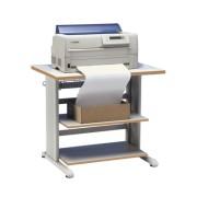 Table d'imprimante Très robuste - Gris clair  -85350