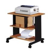 Table d'imprimantes bois à 3 niveaux - Hêtre -85223