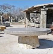 Table d'urnes présentation - Table de recueillement ronde