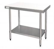 Table de découpe avec planche intégrée - Dimensions (L x P x H) cm : 50 x 50 x 90 ou 90 x 60 x 90