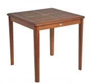 Table de jardin carrée - Dimensions (Lxlxh) cm : 80 x 77 x 80