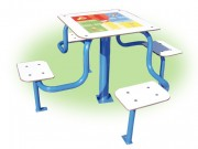 Table de jeux - 4 Jeux / Acier