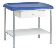 Table de pédiatrie - Capacité de charge  : 80 Kg