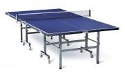 Table de ping pong sur roulettes - Plateau de 19 mm / bleu et vert