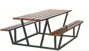 Table de pique-nique - Dimensions de la table (mm) : 2000 x 750