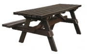 Table de pique-nique PMR - Longeur : 200 cm - Largeur : 100 cm - Hauteur : 80 cm