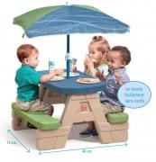 Table de pique-nique pour petits enfants - Légère