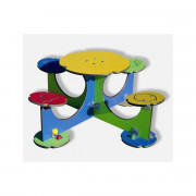 Table de plein air pour enfants - Dimensions (L x l) m : 1.3 x 1.3