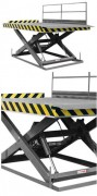 Table de quai élévatrice - Capacité : jusqu'à 10000 kg
