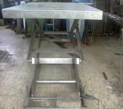 Table de quai hydro électrique - Fixée au sol