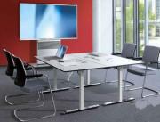 Table de réunion avec roulettes - Hauteur 720 mm