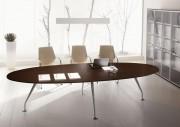 Table de réunion design - Dimensions (L x P) : 320 x 120 cm